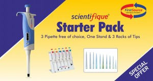 Scientifique Fully Autoclavable Variable Volume Micropipettes Package with Tips
