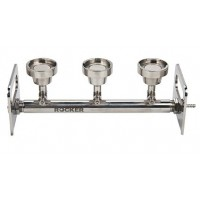 BioVac 300 is a 3 branch stainless steel manifold base