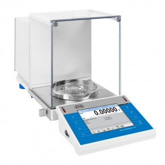 Semi Micro and Analytical Balance, Max Capacity 110g XA 110.4Y.A