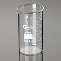 Beaker Tall form with graduation & spout, 1000ml, 6/Pack