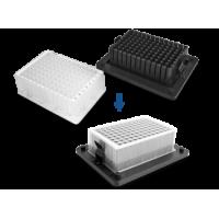 B-2A, Block for one deep-well plate Axygen® 96/2200 μl