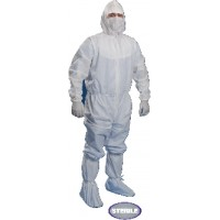 KIMTECH PURE* A5 Sterile Cleanroom Coverall Apparel, Hood 100X1 Nos