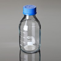 Laboratory Bottles with Clear Glass ISO 4796, 500ml