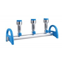 MultiVac 310-MS, 3-Places Aluminum Manifold