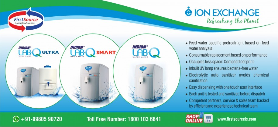 Ion Exchange Water Purification System
