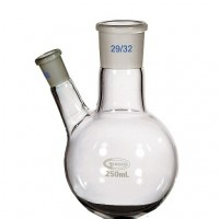 2 Neck Round Bottom Flask, 100ml