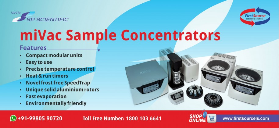 miVac Sample Concentrators