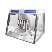 UVC/T-M-AR, DNA/RNA UV-Cleaner Box with inlet